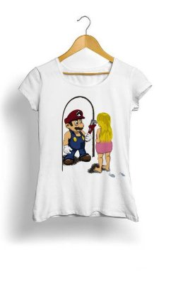 Camiseta Feminina Tropicalli The Plumber