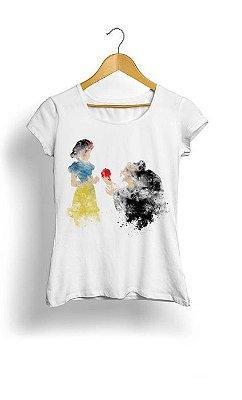 Camiseta Feminina Tropicalli Branca de neve