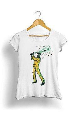 Camiseta Feminina Tropicalli Breaking bad