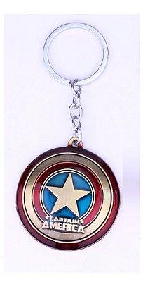 Chaveiro Captain America Presentes Criativos
