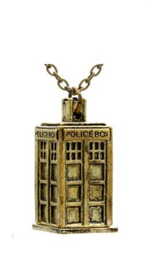 Colar Dr. Doctor Who Police Box Presentes Criativos​