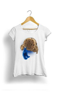 Camiseta Feminina Tropicalli Monster cookie