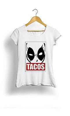 Camiseta Feminina Tropicalli Deadpool