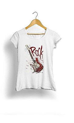 Camiseta Feminina Tropicalli Rock