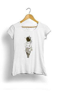Camiseta Feminina Tropicalli Astronauta
