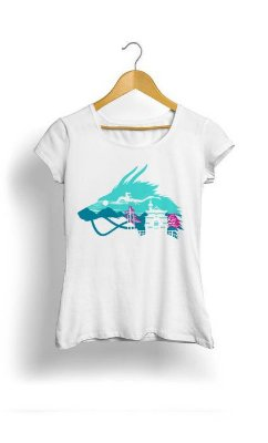 Camiseta Feminina Tropicalli My dragon