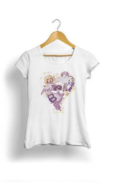 Camiseta Feminina Tropicalli Love game