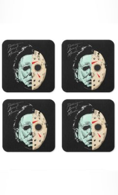 Porta Copos Jason Halloween Presentes Criativos