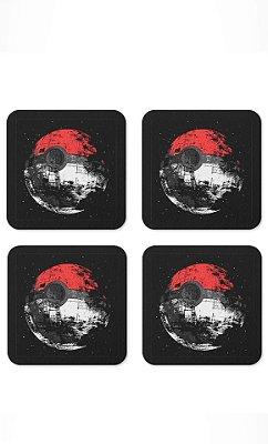 Porta Copos Poke Ball