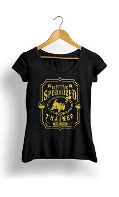Camiseta Feminina Pokemon Specialized Trainer