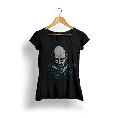 Camiseta Feminina Heisenberg Chemical