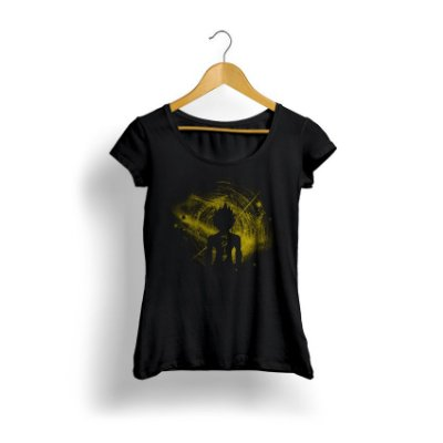 Camiseta Feminina Dragon Ball Power