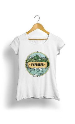 Camiseta Feminina Tropicalli Explorer
