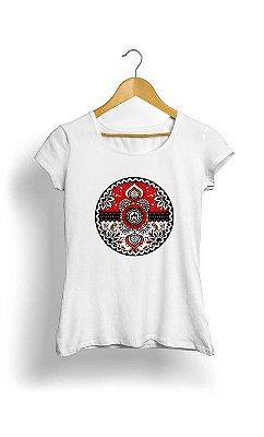 Camiseta Feminina Tropicalli Dia De Los Pokemon