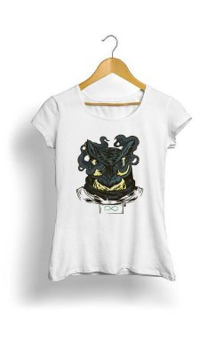 Camiseta Feminina Tropicalli Night owl