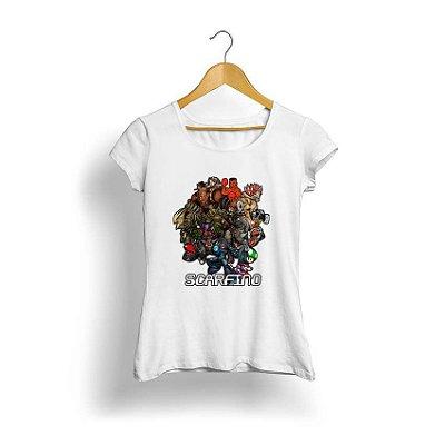 Camiseta Feminina Tropicalli Scarfino