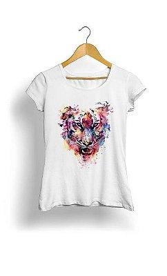 Camiseta Feminina Tropicalli Tigre