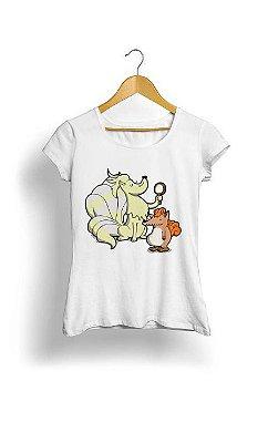 Camiseta Feminina Tropicalli Nine tails are better than one!