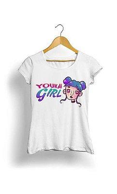 Camiseta Feminina Tropicalli Youkai girl
