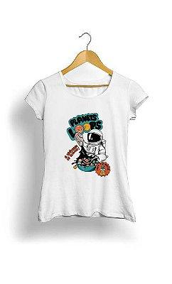 Camiseta Feminina Tropicalli Planets cereal