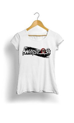 Camiseta Feminina Tropicalli Pug fashion