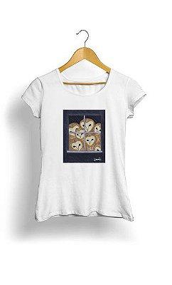 Camiseta Feminina Tropicalli The Owls Are Not What They Seem
