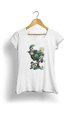 Camiseta Feminina Tropicalli tonari no totoro