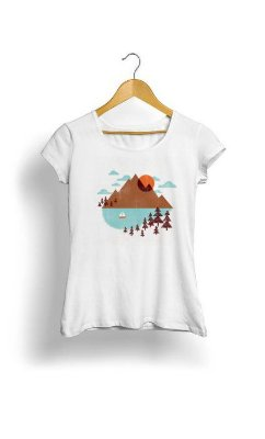Camiseta Feminina Tropicalli Indian Summer