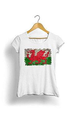 Camiseta Feminina Tropicalli Dragon style