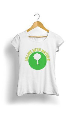 Camiseta Feminina Tropicalli In love nature