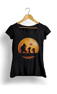 Camiseta Feminina Dragon Ball Hakuna Matata