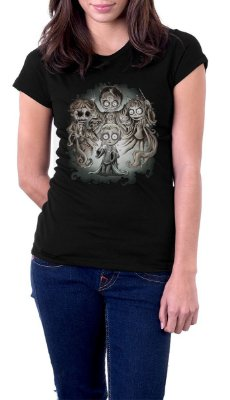 Camiseta Feminina The Strange World of Harry Potter