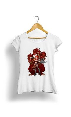 Camiseta Feminina Tropicalli Powerful
