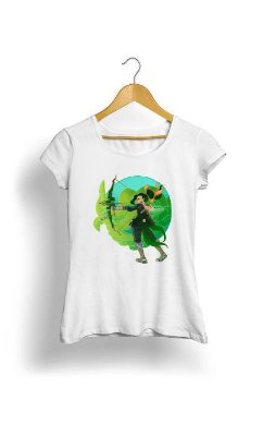 Camiseta Feminina Tropicalli Archer