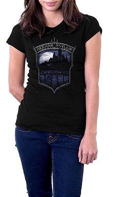 Camiseta Feminina Batman: Arkham Asylum