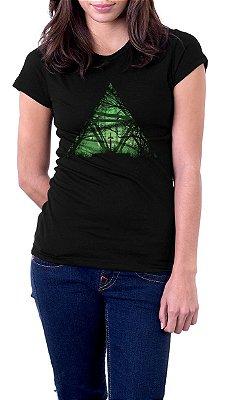 Camiseta Feminina The Legend Of Zelda Florest