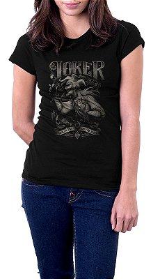 Camiseta Feminina Joker Coringa