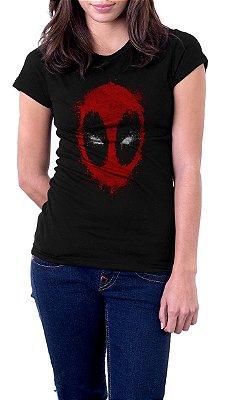 Camiseta Feminina Deadpool Face