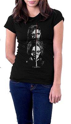 Camiseta Feminina Game of Thrones Family Stark