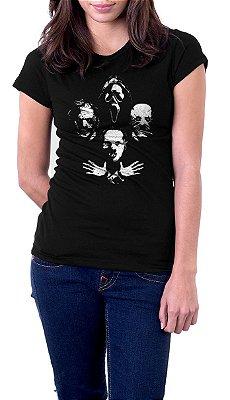 Camiseta Feminina Todo mundo em Panico