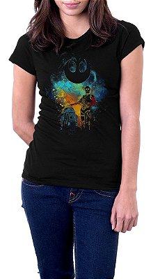 Camiseta Feminina Star Wars: C3PO e R2D2 Rebel Alliance