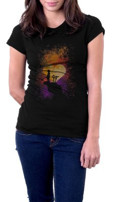 Camiseta Feminina Kingdom Hearts