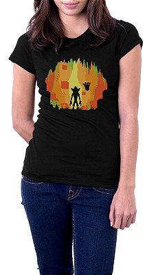 Camiseta Feminina Crash Bandicoot