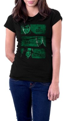 Camiseta Feminina Harry Potter The bad the severus