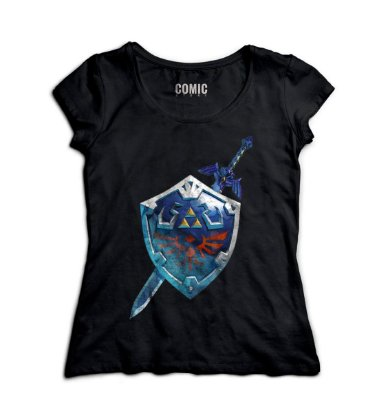 Camiseta Feminina Armor The Legend Of Zelda