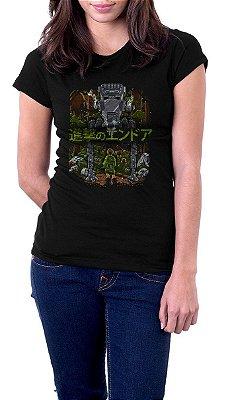 Camiseta Feminina Link florest