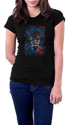 Camiseta Feminina Doctor Who 3D
