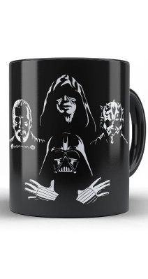 Caneca  Star Wars Darth Vader Zombies