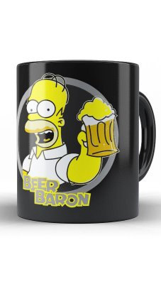 Caneca Bart Simpson Got Beer?