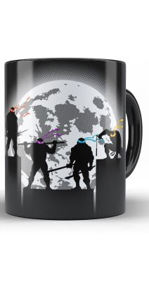 Caneca Tartarugas Ninjas Fight